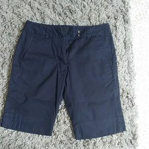 Adidas navy blue bermuda shorts